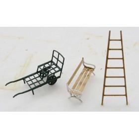 Set accessoires gare – kit – 1/87ème