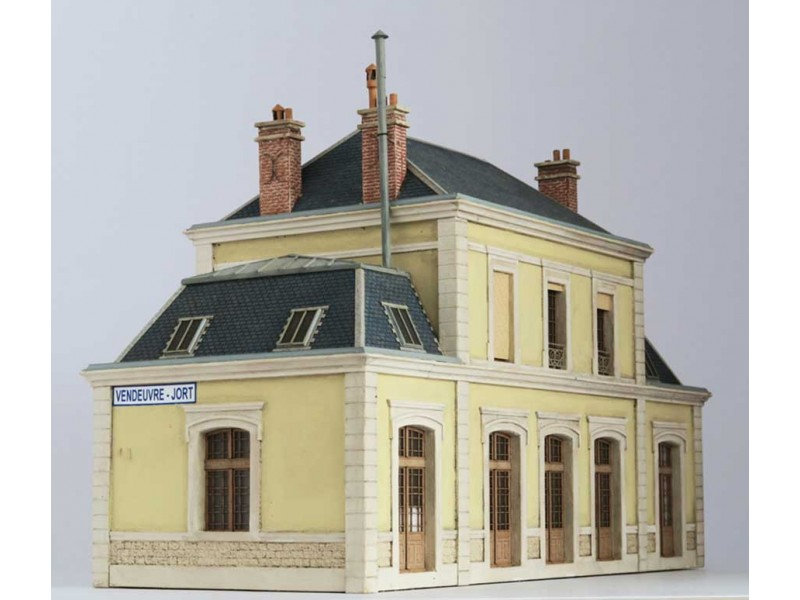 GARE DE VENDEUVRE-JORT (Diorama)