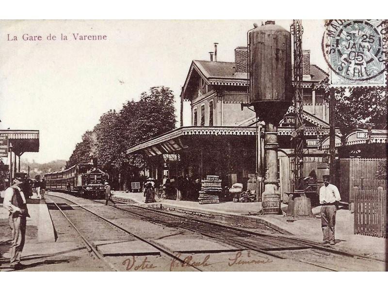 GARE DE LA VARENNE-CHENNEVIERES