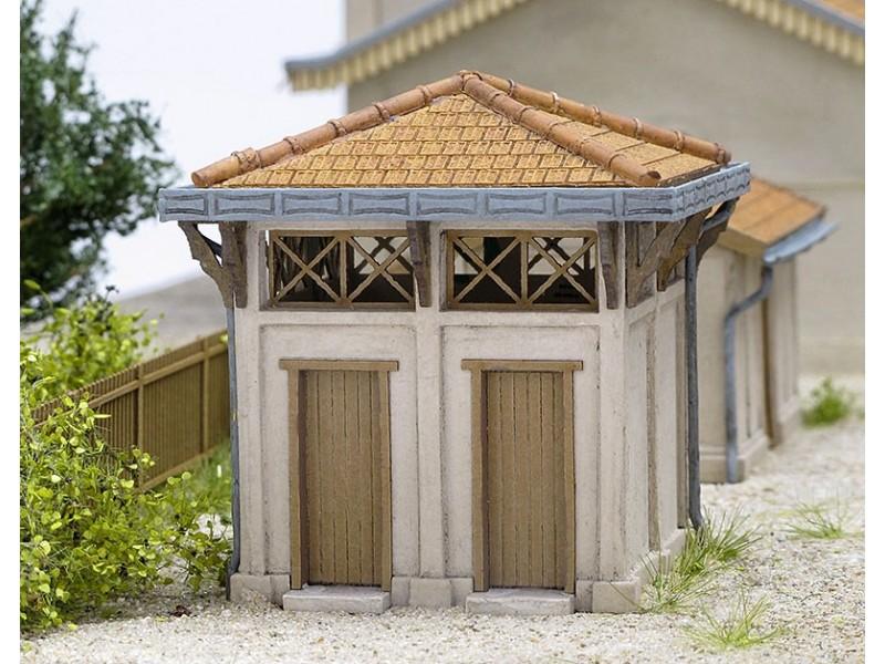 Modèle réduit - WC gare de Lusigny – KIT – 1/87ème