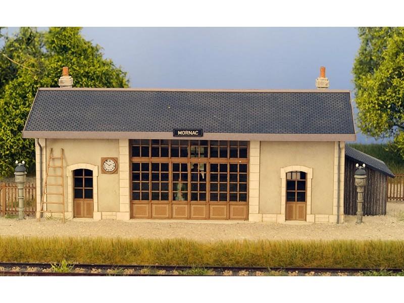 Modèle réduit - Gare de Mornac – kit – 1/87ème